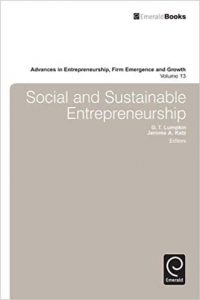 Social and Sustainable Entrepreneurship